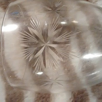 does anybody know this cut star pattern on glass or where it comes from