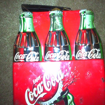 Metal coca cola lunch box