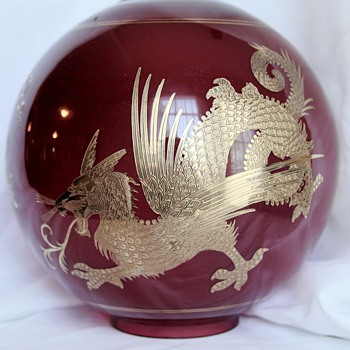 Kerosene Ball shade with Griffin