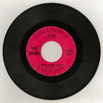"45rpm - ""The Byrds"" - 1965"