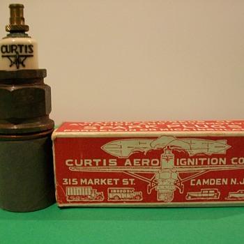 Curtis aircraft sparkplug