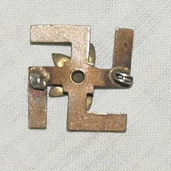 Swatiska Lapel Pin/Brooch