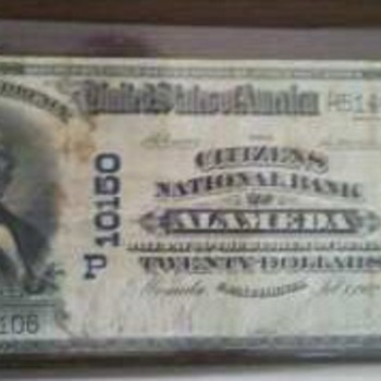 1902 $20 Alameda 10150 - US Paper Money