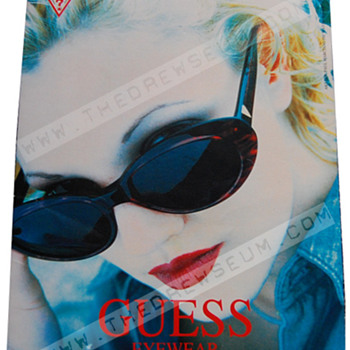 Guess standee - Advertising