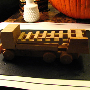 Wood car Krom
