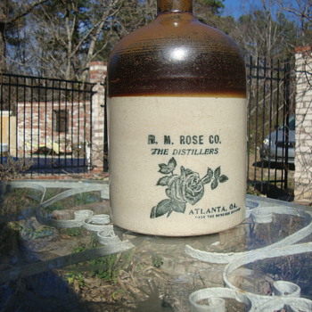 wisky jug stone