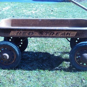 Rusty Red Streak Wagon - Sporting Goods