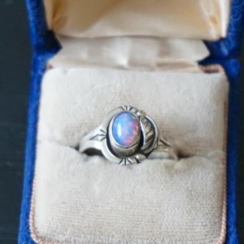 Silver Opal Ring - Fine Jewelry
