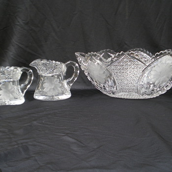 Cut Glass - Glassware
