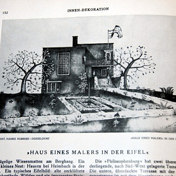 1930 German Magazine on Design/Interior decorating - Innendekoration