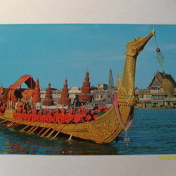 Bangkok Thailand Post Cards - Postcards
