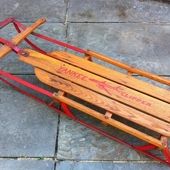 1960's No. 12 L Yankee Clipper Sled