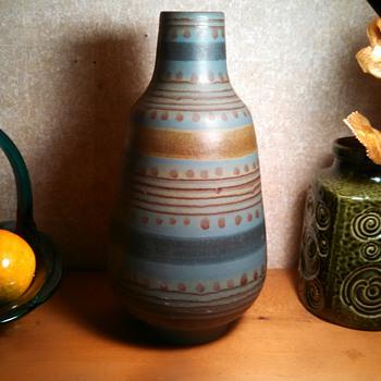 Alvino Bagni Vase - Art Pottery