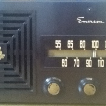 Model 614B Emerson Radio