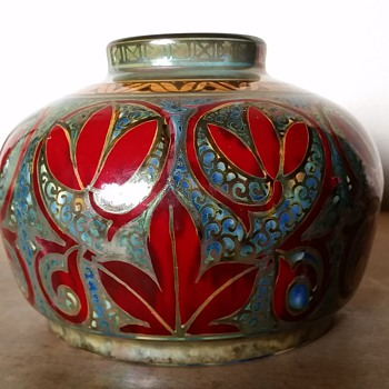 Pilkington's Lancastrian Vase - Art Pottery