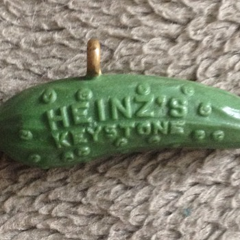 Heinz 1893 World's Fair Expositions Original Pickle Pin