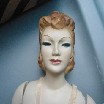 1940's Miniature Sewing Mannequin  - Sewing