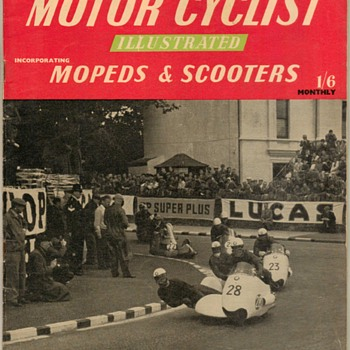 "1958 - ""Motor Cyclist Illustrated"" Magazine (British) - Paper"