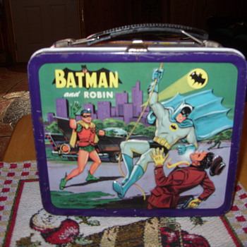 1964 batman and robin lunch box