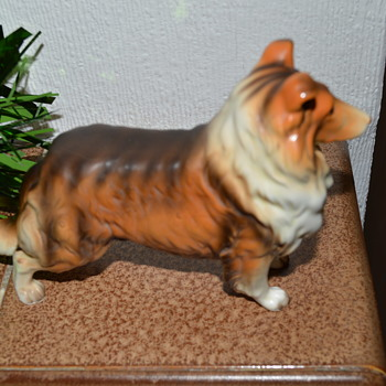 Collie dog figurine - Figurines