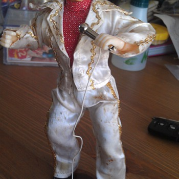 Vintage Elvis Presley Toy Doll - Music