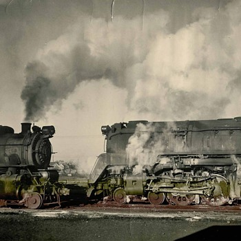 old railroad photo - Railroadiana