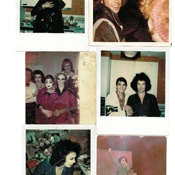 Rocky Horror and Tim Curry Photos during making of film