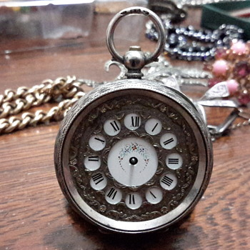 1920s 935 Silver pocket watch