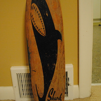 1960&#039;s Nash Shark &quot;Sidewalk Surfboard&quot; - Outdoor Sports