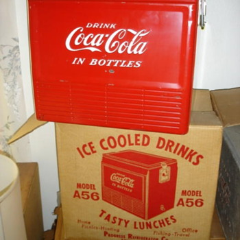 Coke cooler like new, still in the box? - Coca-Cola