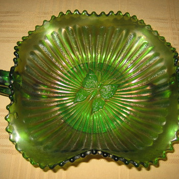 Great-Grandmother's Bon Bon Dish c1890 - Glassware