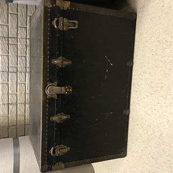 Great grandfather steamer trunk