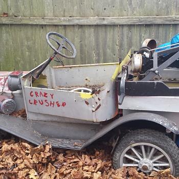 Mini kars model t tow truck 1950's - Model Cars