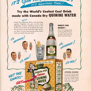 1950 Canada Dry Advertisement - Advertising