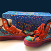 1960s Peter Max Sneakers with box - Toddler Size!