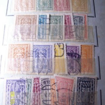 Weird looking stamps from old album
