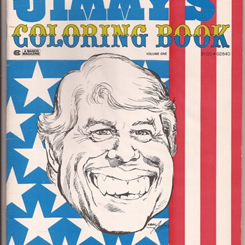 Neal Adams political satire art
