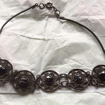 Antique looking necklace