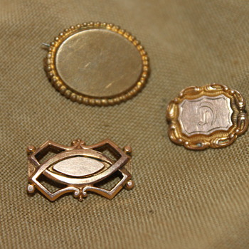 Obsessed with Tiny Victorian Pins  - Fine Jewelry