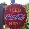 Iced Coca-Cola Sign
