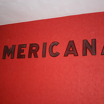 american drive-in marquee letters - Advertising