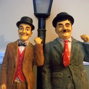 Laurel & Hardy Lamp