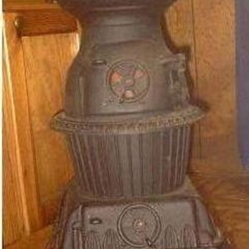 My Cast Iron Potbelly Electric Heater - Kitchen