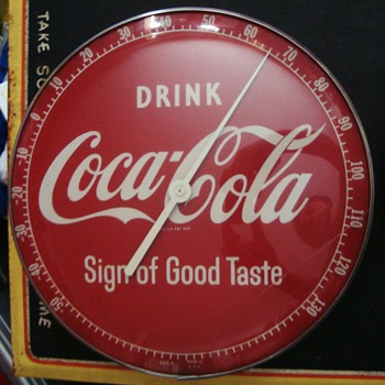 1950 Coca-Cola Thermometers - Coca-Cola