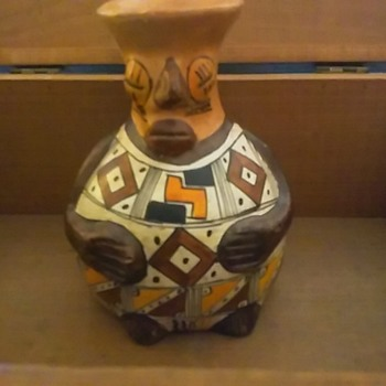 Native Efiggy water jar