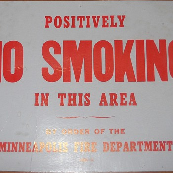 No Smoking! - Firefighting