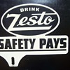 40&#039;s Zesto Soda License Plate Topper