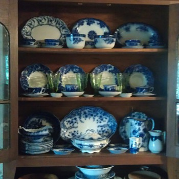 Flow Blue  - China and Dinnerware