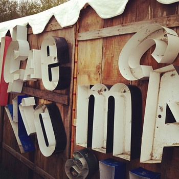Metal letter signs - Signs