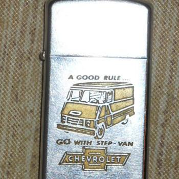 Vintage Zippo lighter - Tobacciana